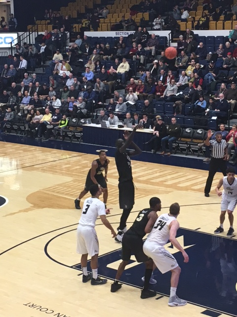 George Washington Rolls Over UCF 74-59