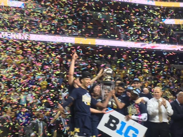 Walton Jr. And Michigan Start Cinderella RunEarly