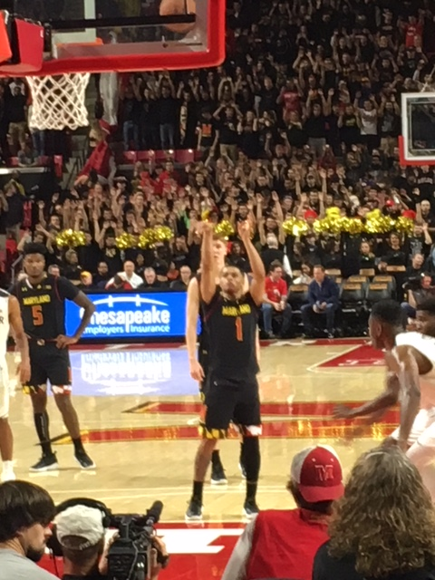 Cowan Leads His Terps Past Butler