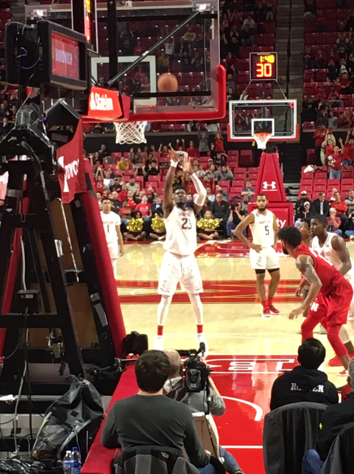 The Life of a Freelance Basketball Scout – Game 9 – Nebraska @ Maryland