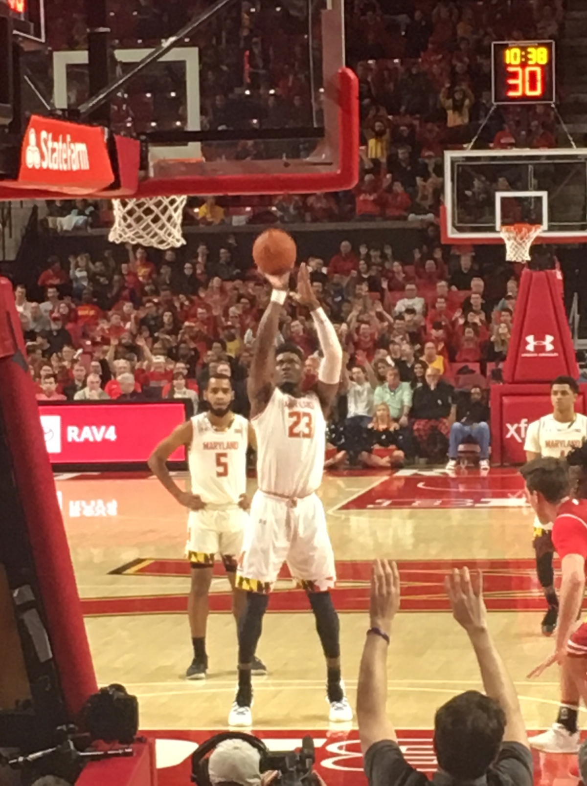 The Life of a Freelance Basketball Scout – Game 10 – Wisconsin vsMaryland