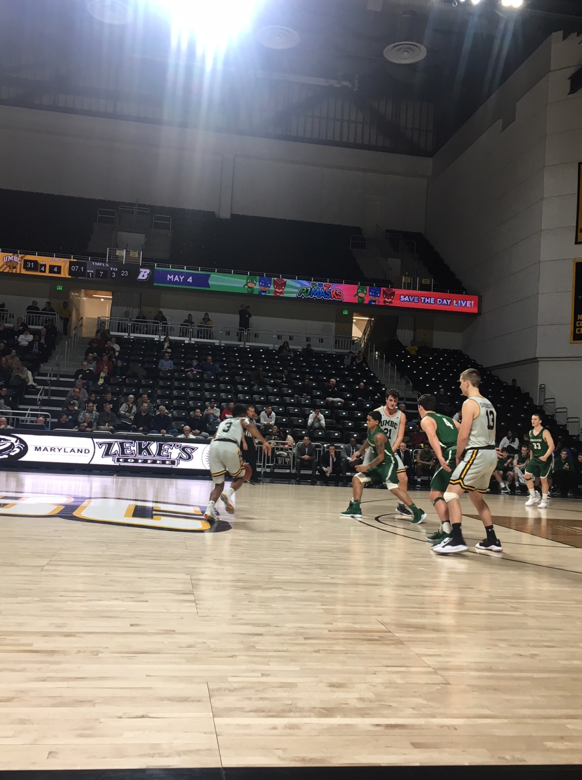 The Life of a Freelance Basketball Scout – Game 11 – Binghamton vs UMBC