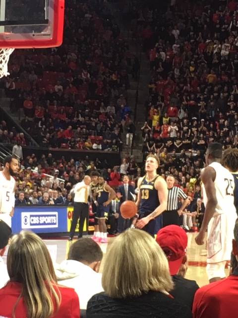 The Life of a Freelance Basketball Scout – Game 16 – Michigan vs Maryland