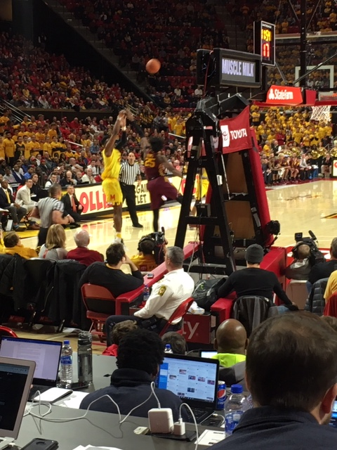 The Life of a Freelance Basketball Scout – Game 17 – Minnesota vs Maryland