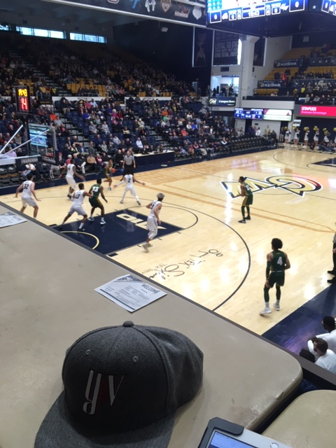 The Life of a Freelance Basketball Scout – Game 17 George Mason vs George Washington